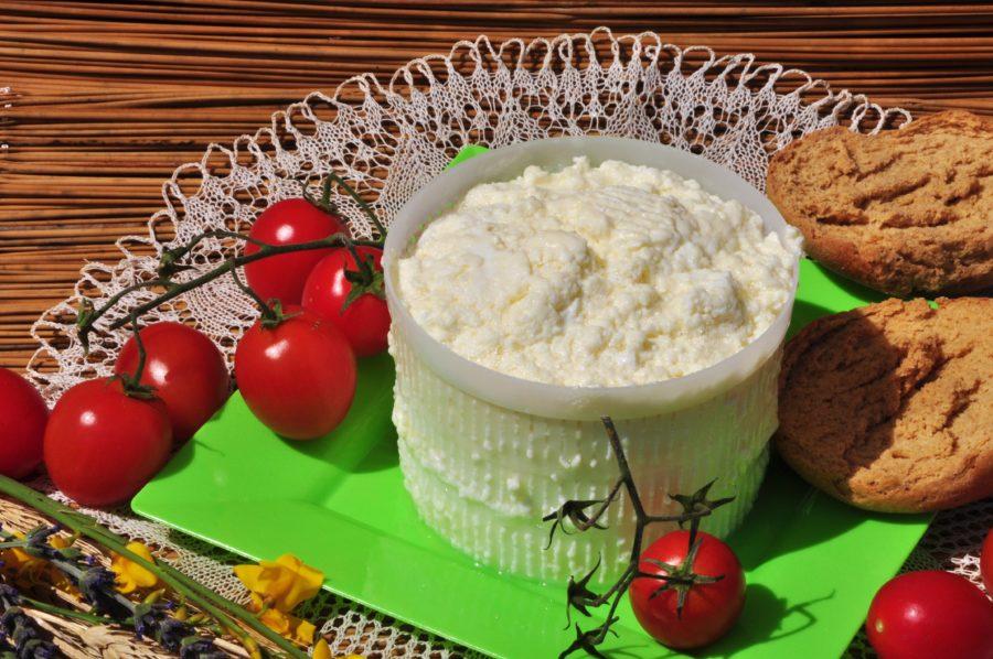 Ricotta - Masseria Capasa - prodotti tipici del Salento