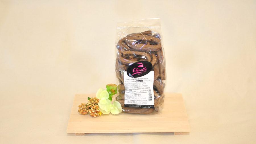 Taralli all'Olivotto© con cipolla - Masseria Capasa - prodotti tipici del Salento