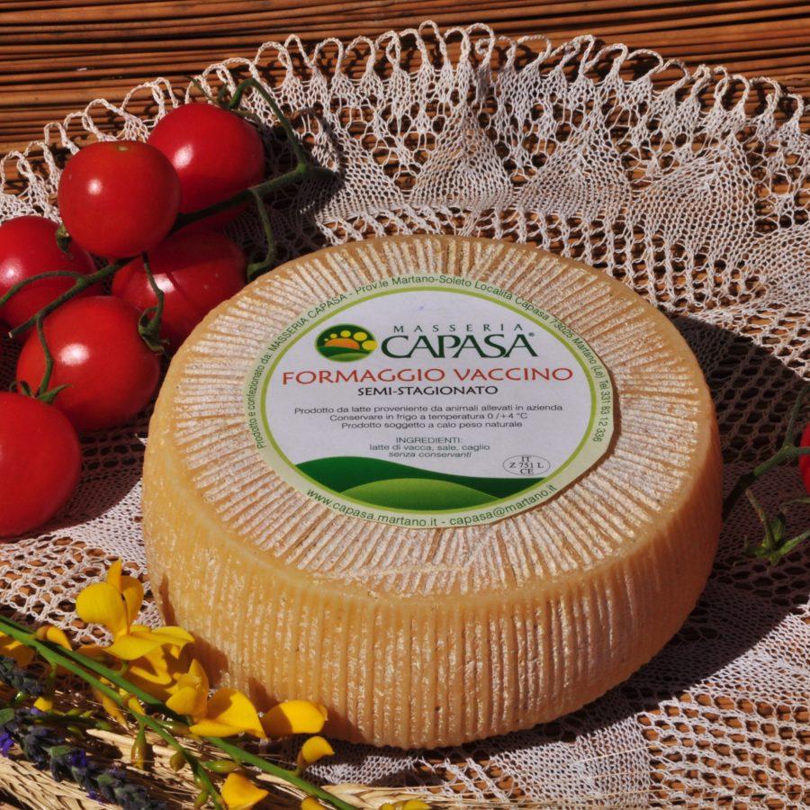 Vaccino Pasta Dura - Masseria Capasa - prodotti tipici del Salento