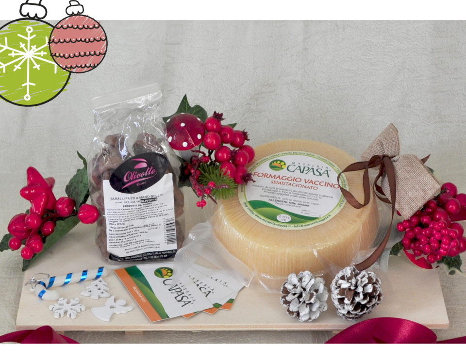 Cesti regalo - Masseria Capasa - prodotti tipici del Salento